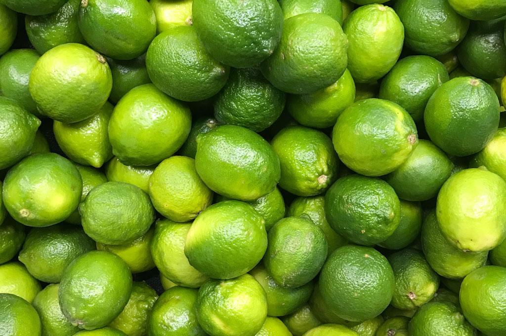 Vacker hud med Lime